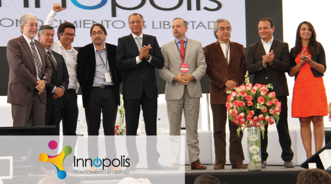 Ecuador Vice President Opens Innopolis, the Innovation Event of the Year