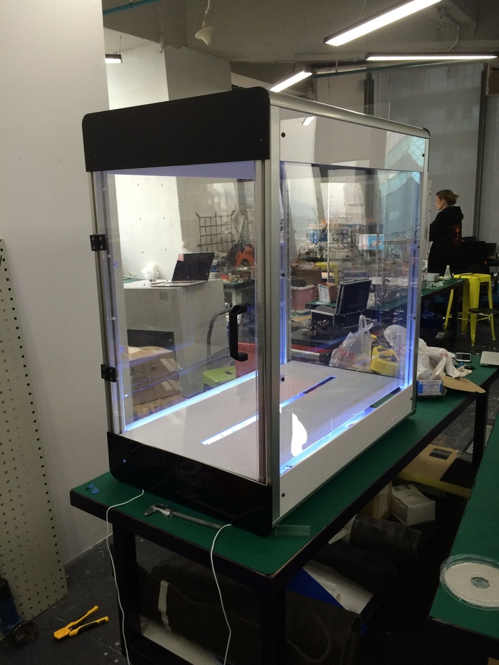 Electroloom - The World's First 3D Fabric Printer