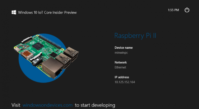 Windows 10 for Raspberry Pi 2 Now Available for Download