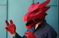 New DIY Geometric Halloween Masks By Wintercroft
