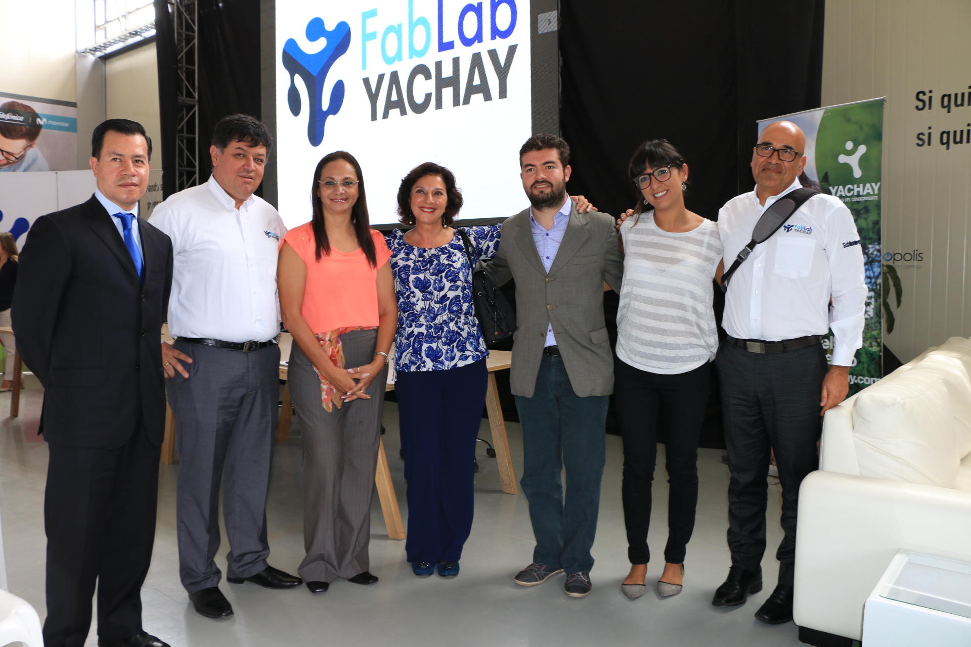 Fab Lab Yachay Joining Fab Network