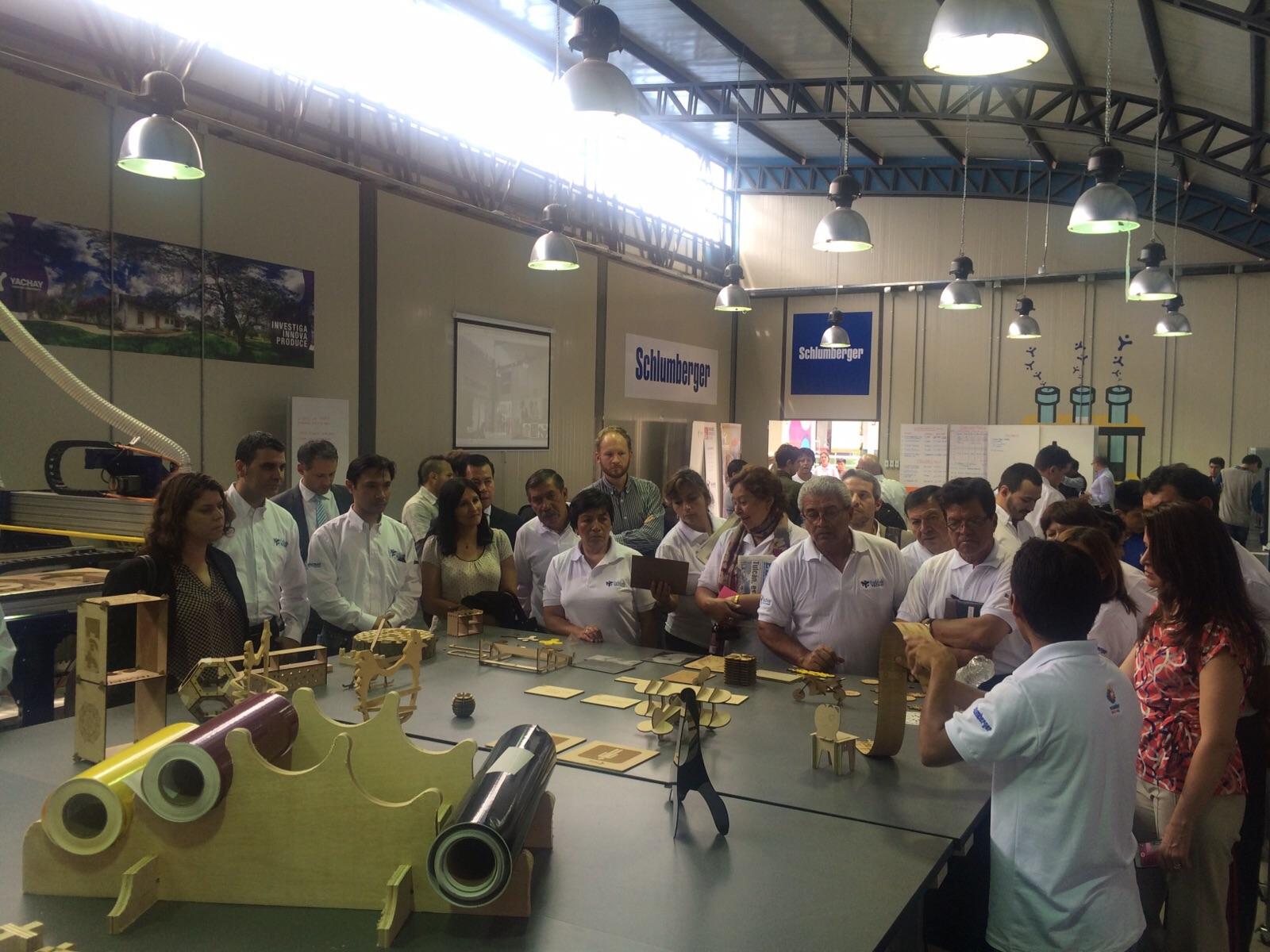 Fab Lab Yachay Opening
