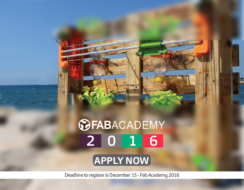 Learn To Make Almost Everything In Fab Academy 2016!