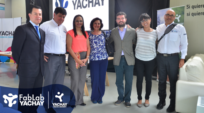 YACHAY FabLab Already Part of GLOBAL DIGITAL NETWORK PRODUCTION