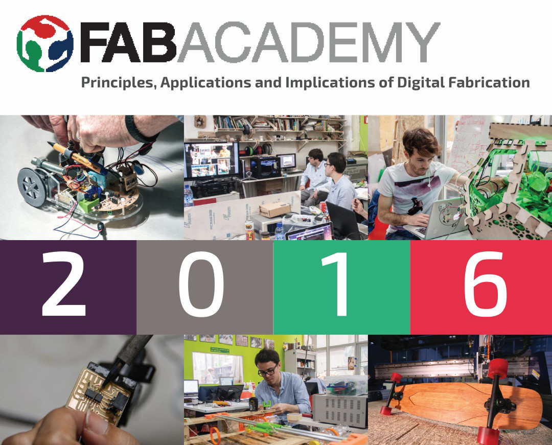 Fab Academy 2016 // Applications are open!