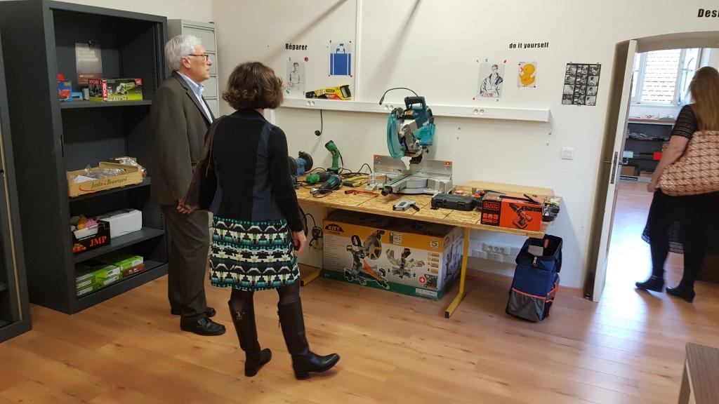 Fab Lab Cortina Inauguration