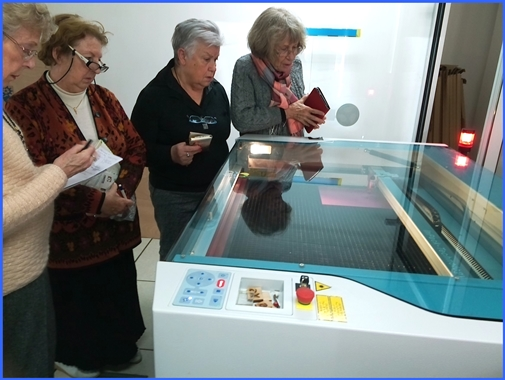 Retirees in full action in Fab Lab Ajaccio!