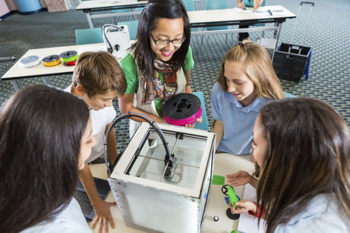 Orange Schools Introduce The 'Fab Lab' To Students