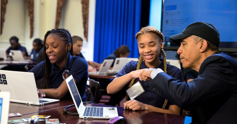 Obama outlines $4 billion 'Computer Science for All' education plan