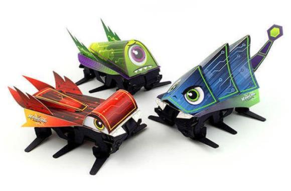 Kamigami — Animal-inspired robots anyone can make!