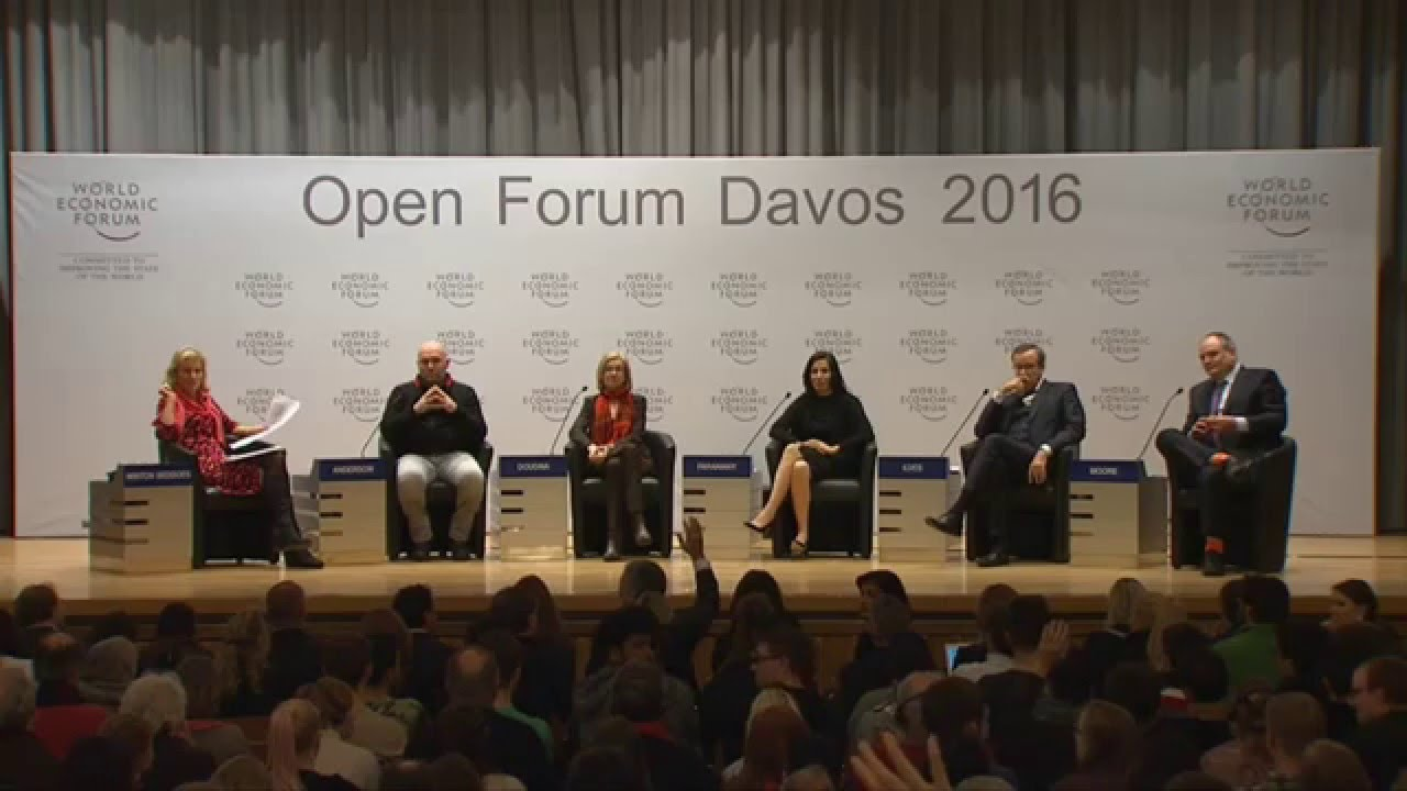 Davos 2016: It's Time to Talk About Gender Inequality