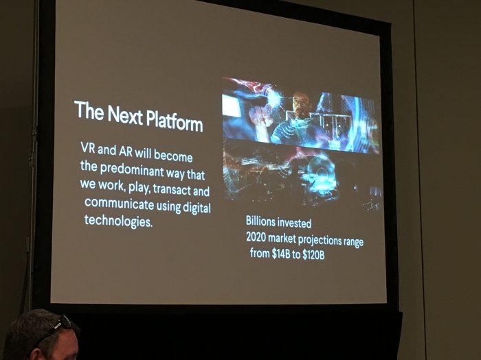 FLC at Virtual Reality Summit - Immersive Web