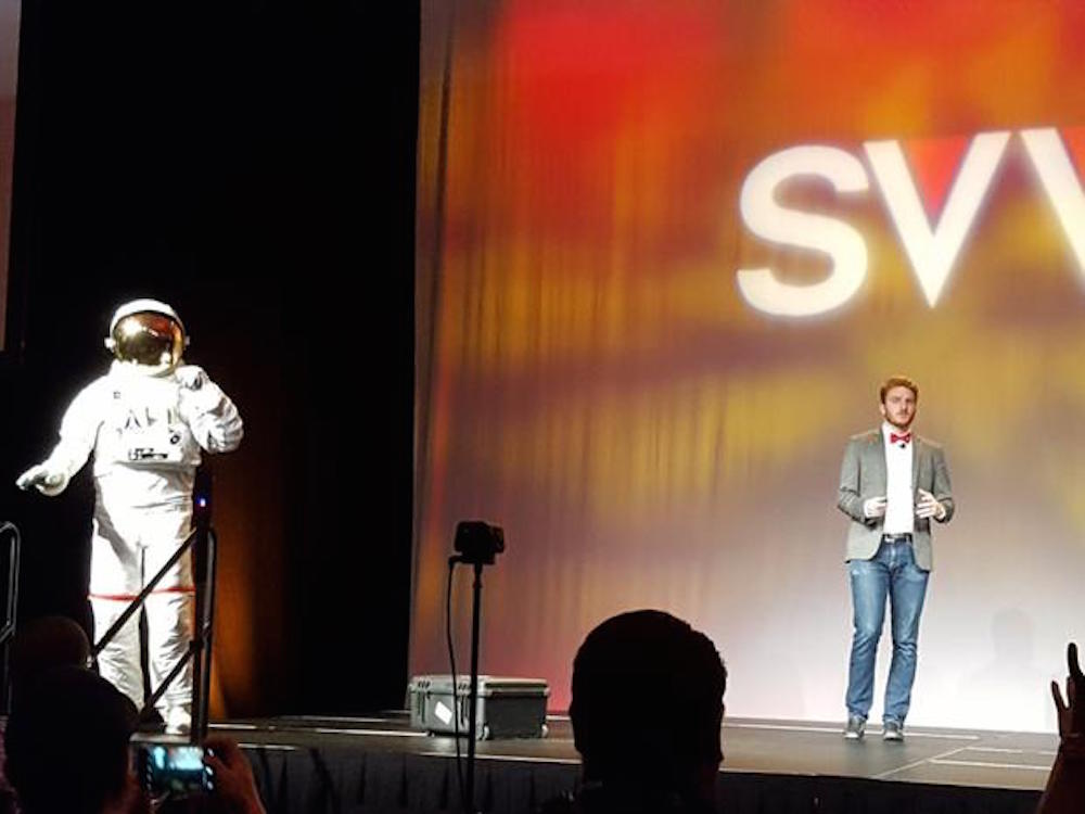 Social VR, Space VR, And 360 Cameras: SVVR's Opening Keynote