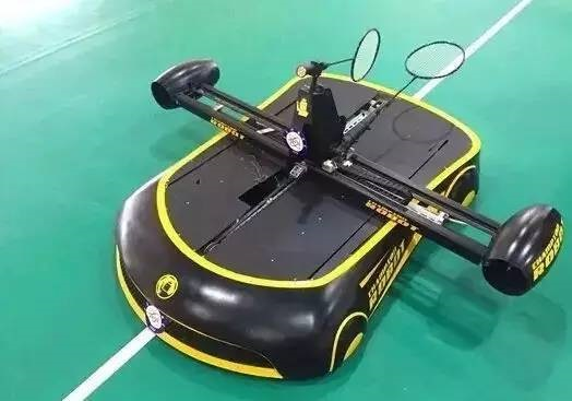 Meet Badminton Playing Robot!