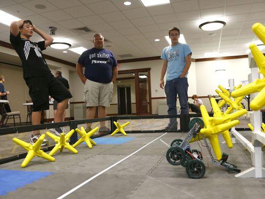Camp Teaches Students Hands-On Robotics