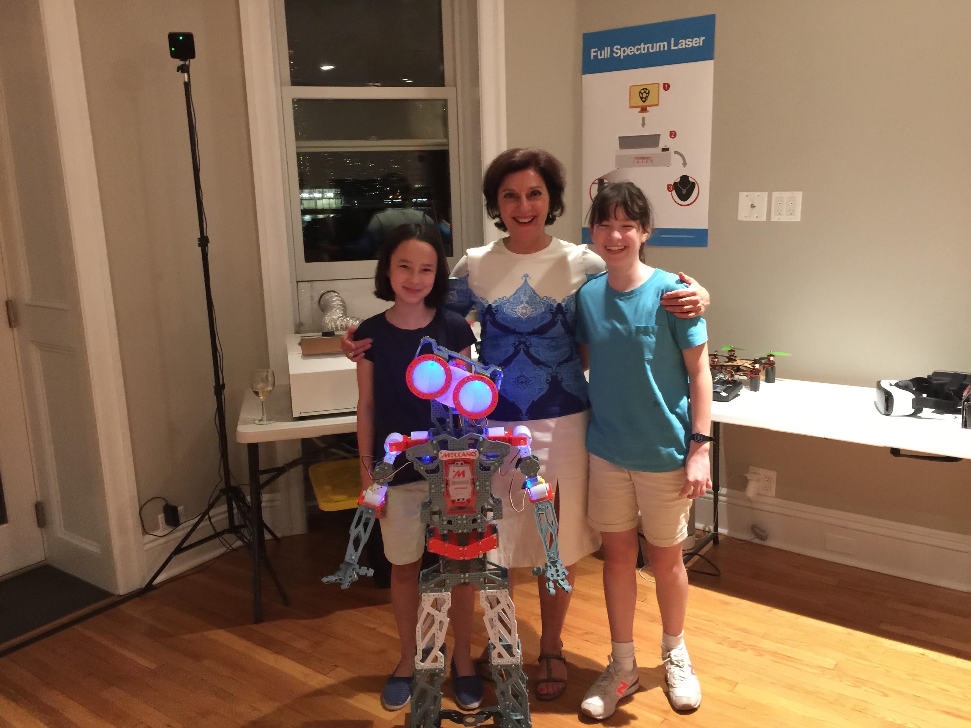 First School Fab Lab Event Held in Brooklyn New York