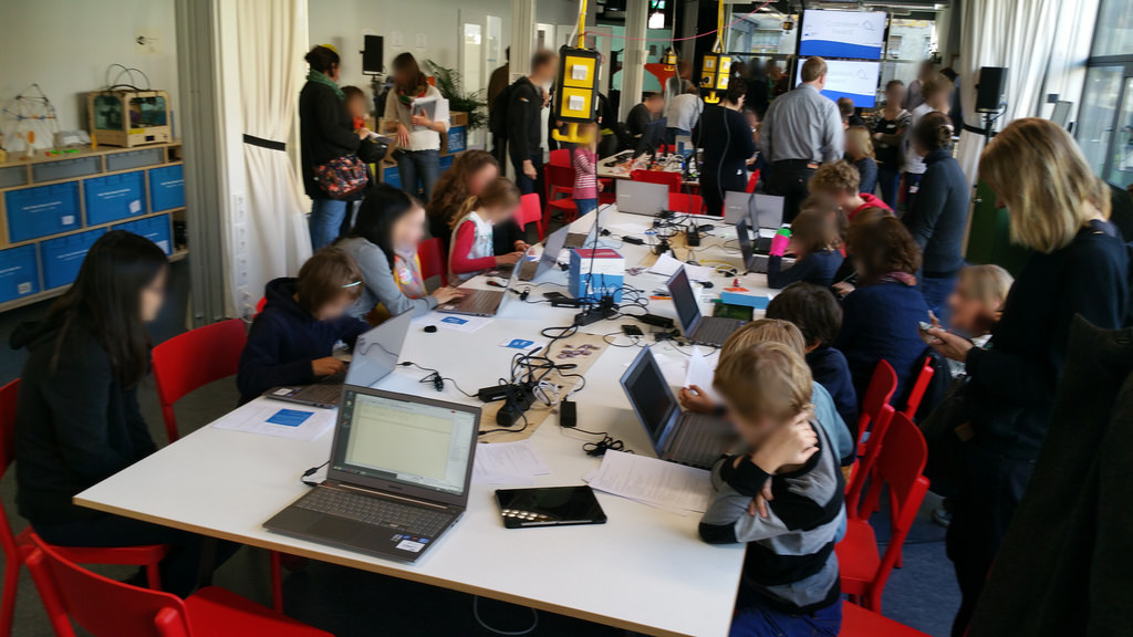 Five-Year Olds And Laser Cutters - Perfect Together? Welcome To The First Early Childhood Fab Lab