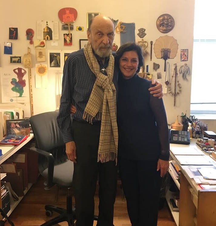 Celebrating 23 Years of Collaboration with Milton Glaser!