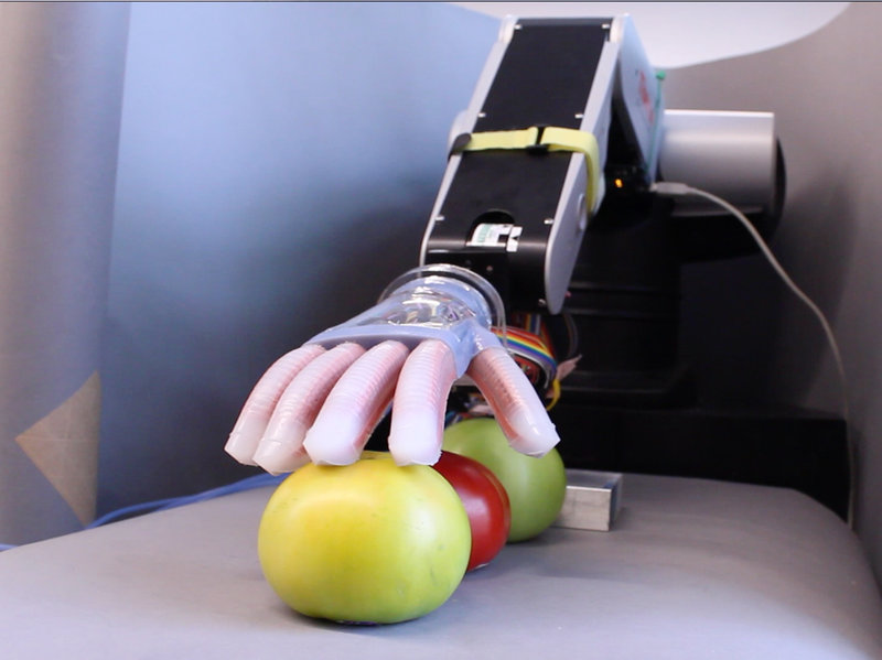 Robot Hand With a Soft Touch