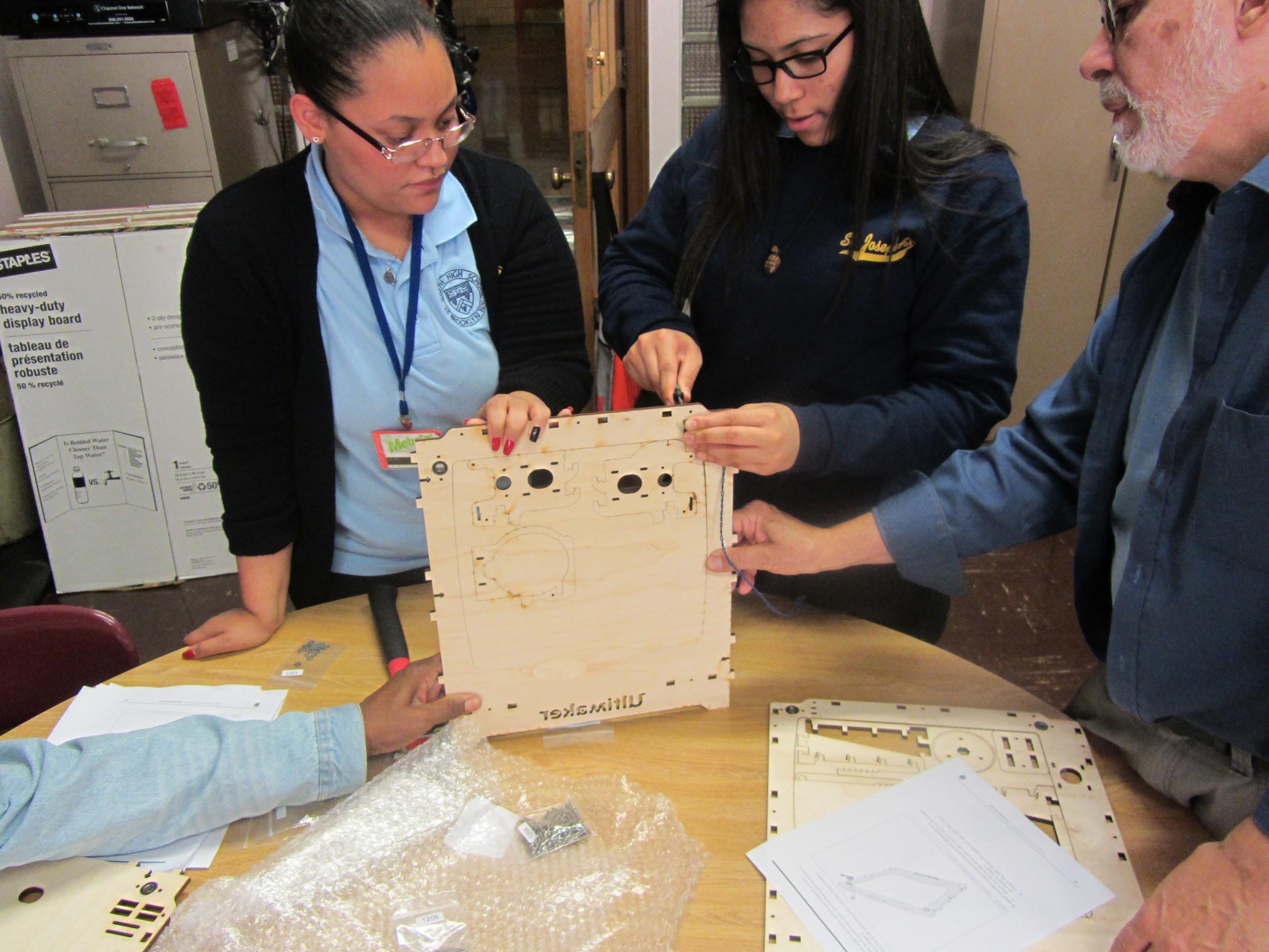 Saint Joseph High School Begins 3D Printing