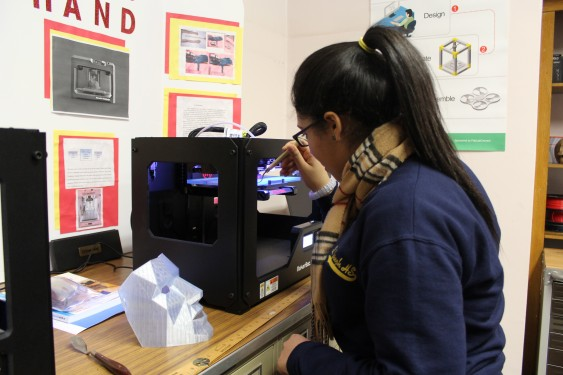 Brooklyn's St. Joseph's H.S. FabLab Staying Busy