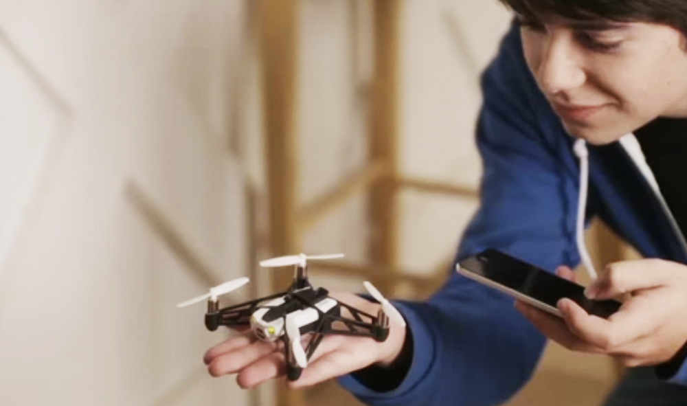 Programming Your Parrot Drone with Tynker