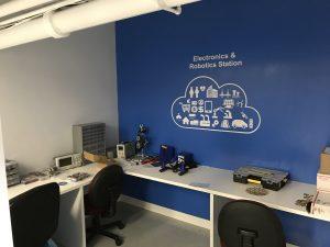 Electronics and Robotics station