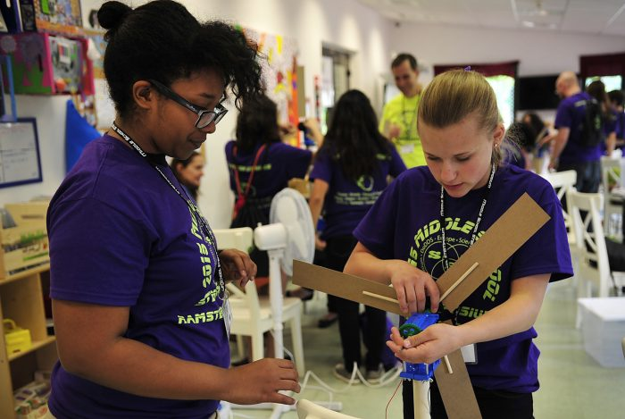 LA County Students Build STEM Skills in Fab Labs