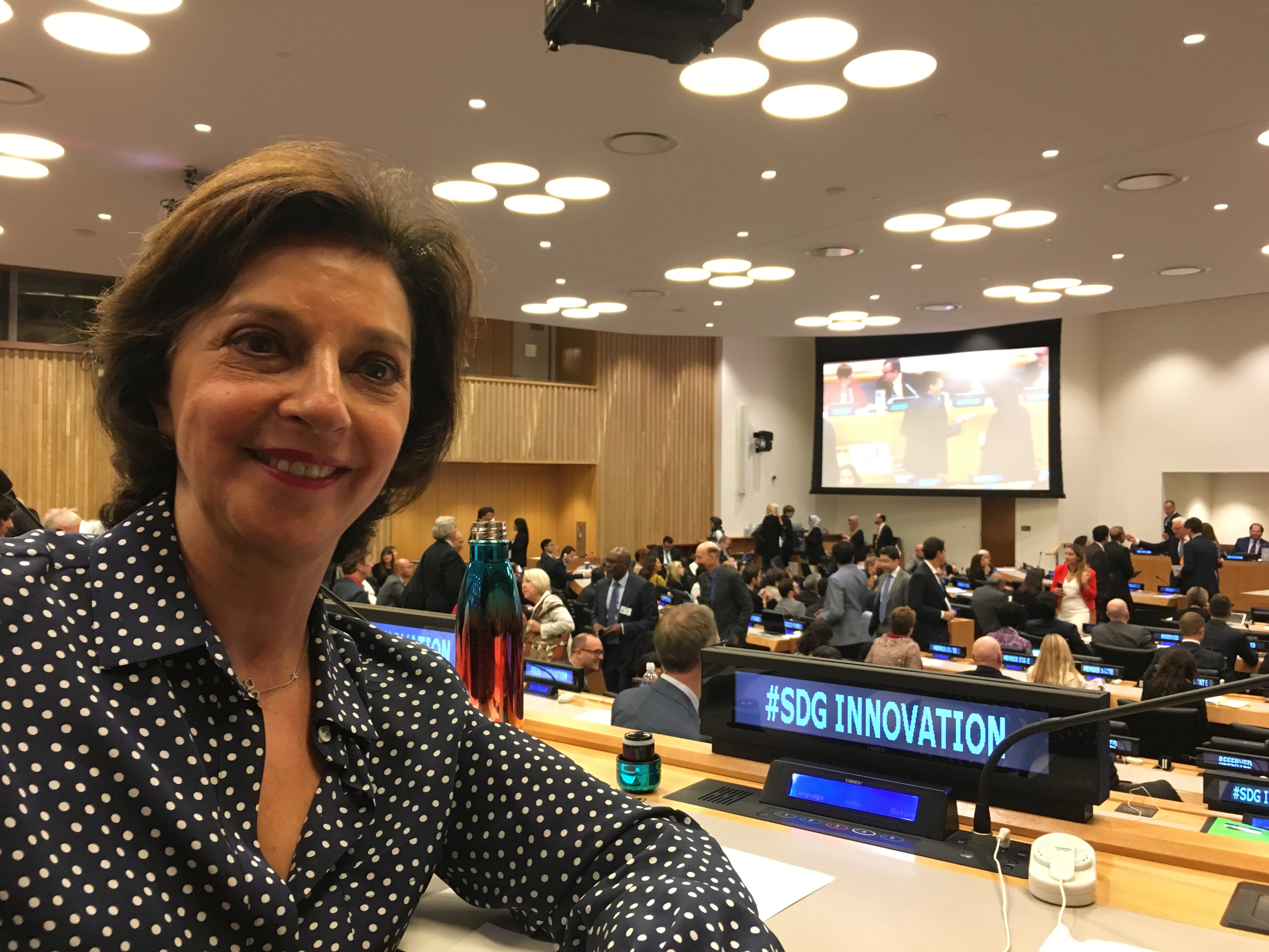 FLC Co-founder Attends Technology Event at the United Nations