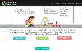 Brand New SchoolFabLab.com Website Launched!
