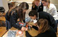 STEM Fair Day in the School Fab Lab at Fontbonne Hall Academy was Bustling!