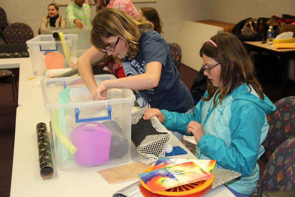 Middle School Girls Explore STEM at CCC Conference