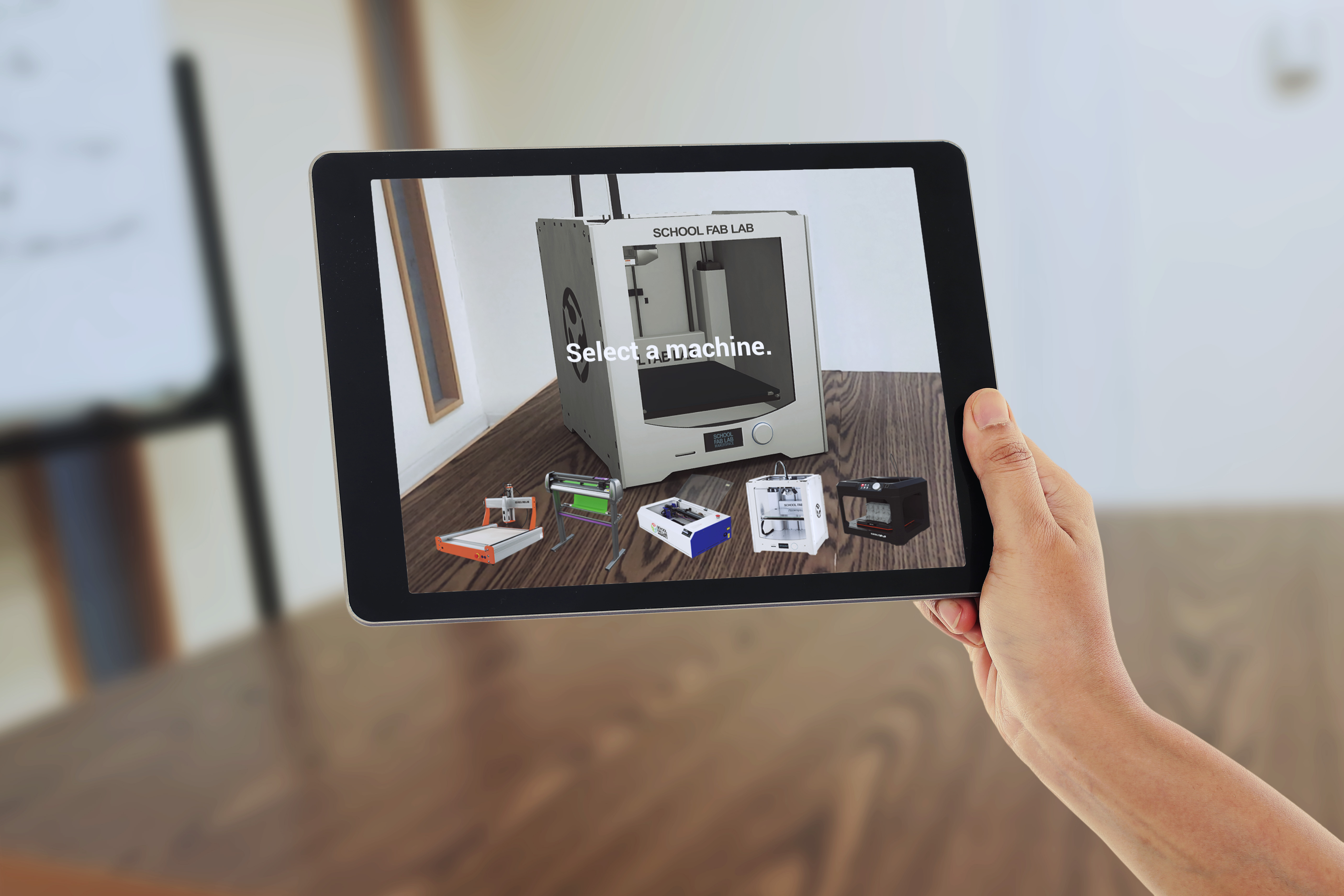 New School Fab Lab AR App Available to Demo