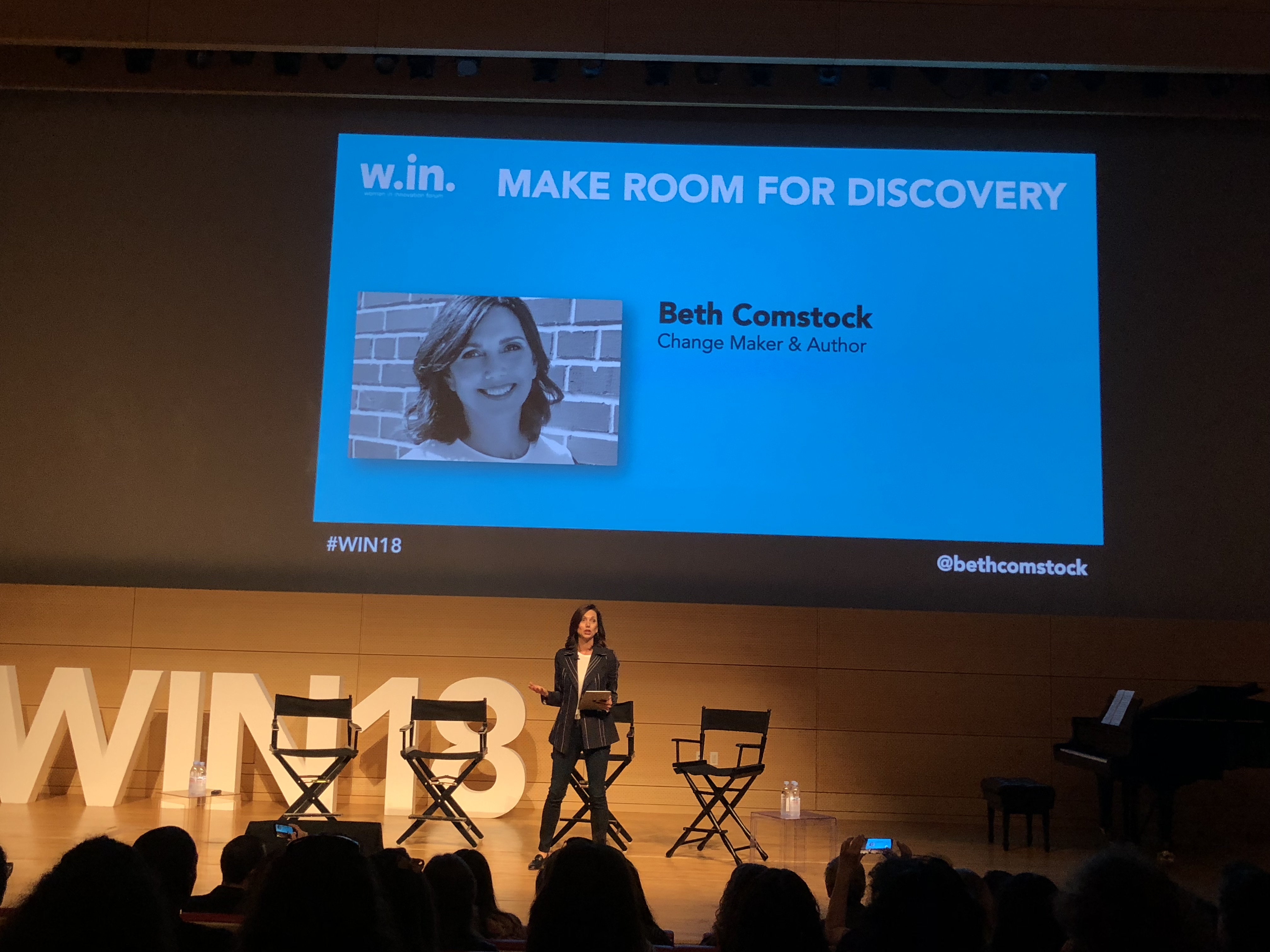 Simone Amber Reports From Women In Innovation Forum in NYC