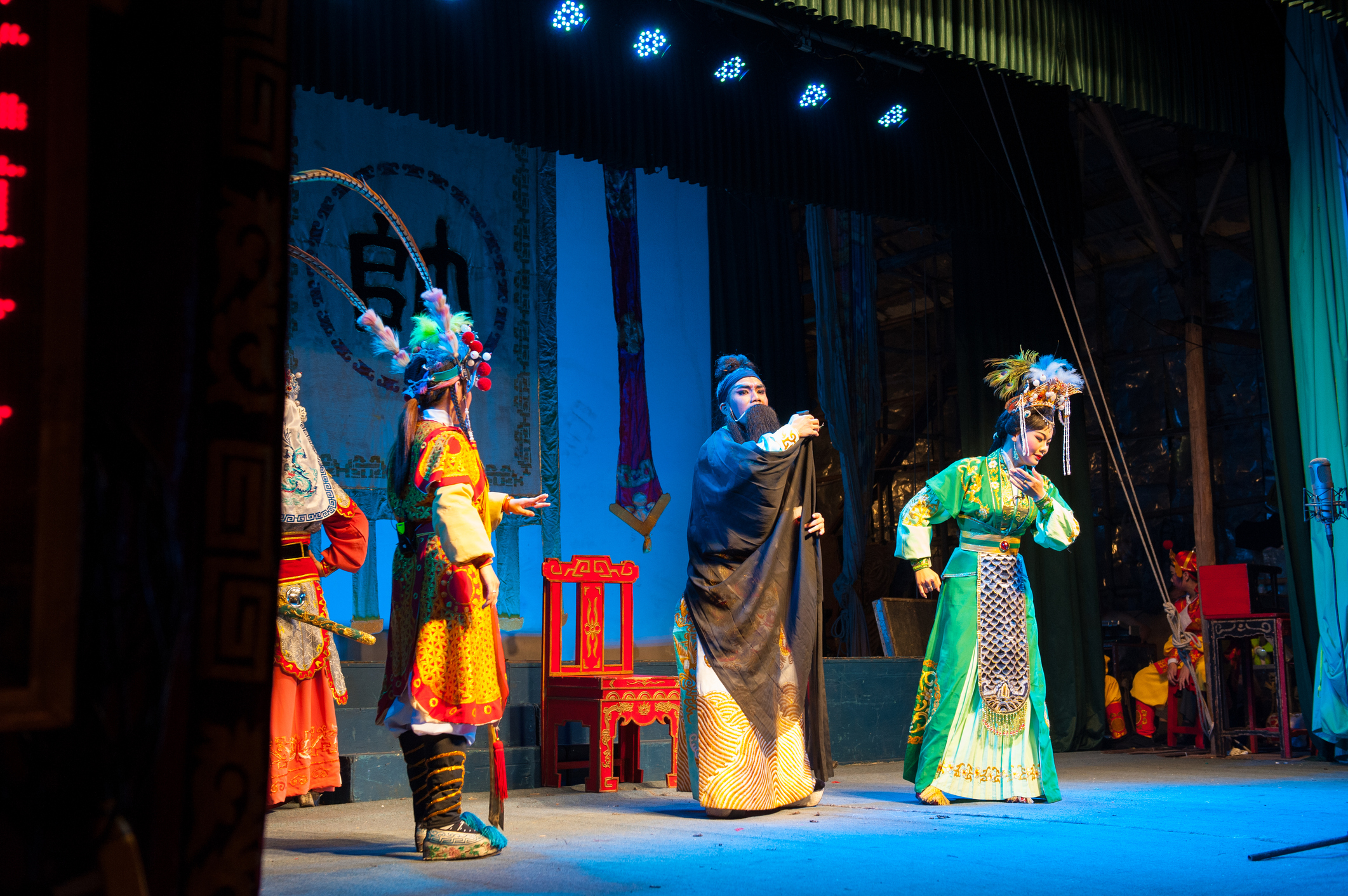Learn Cantonese Opera from a Hong Kong Master on 3D Software with Sensor Technology