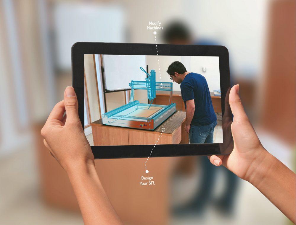 iPad man AR