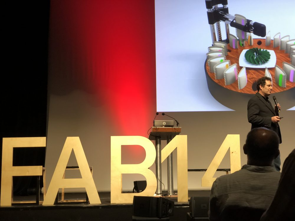 Digital Food Production Discussed at Fab14 in Toulouse, France