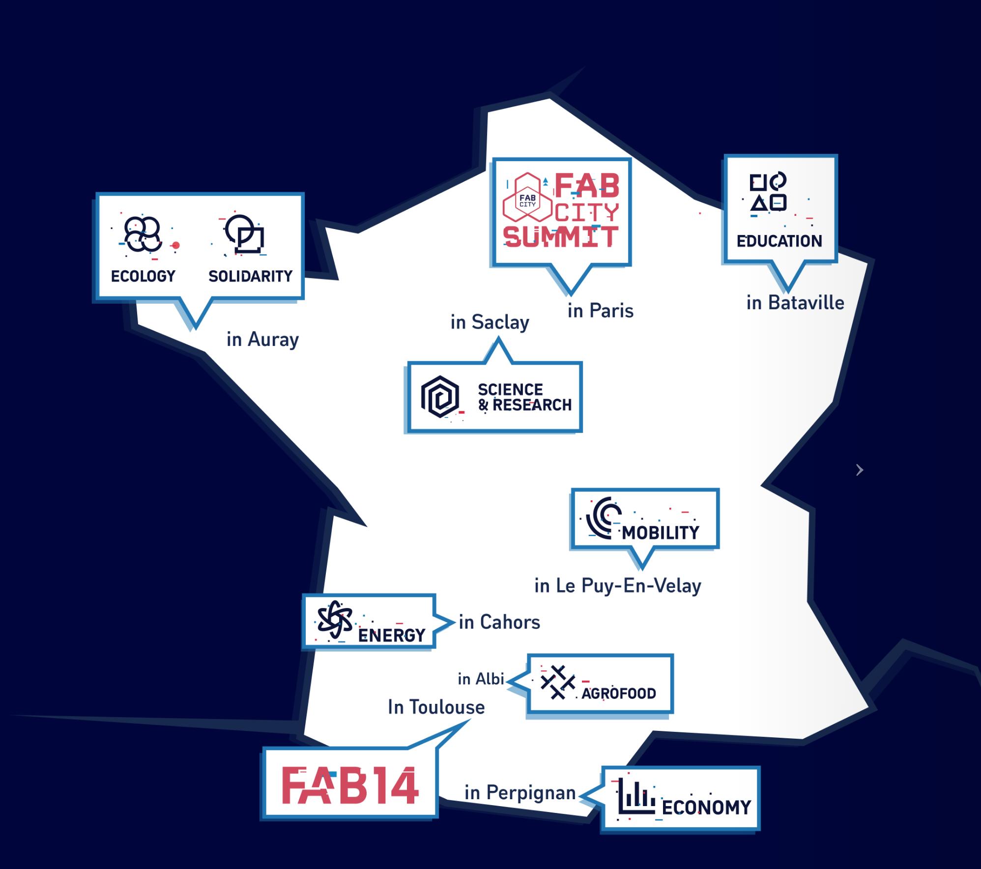 Fab14 across France