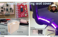 Health Promoting Seat Cover