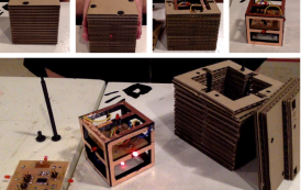 Interactive Cardboard Cubes