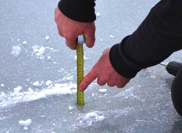 Ice Measuring Thickness Device