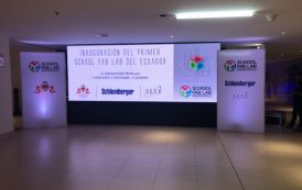 Inauguration of The First School Fab Lab in Latin America