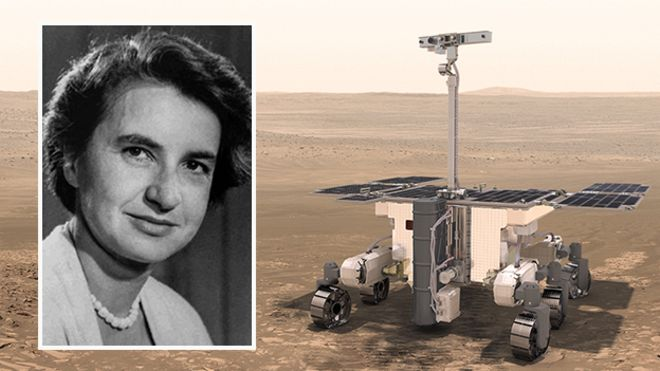Rosalind Franklin: Mars rover named after DNA pioneer