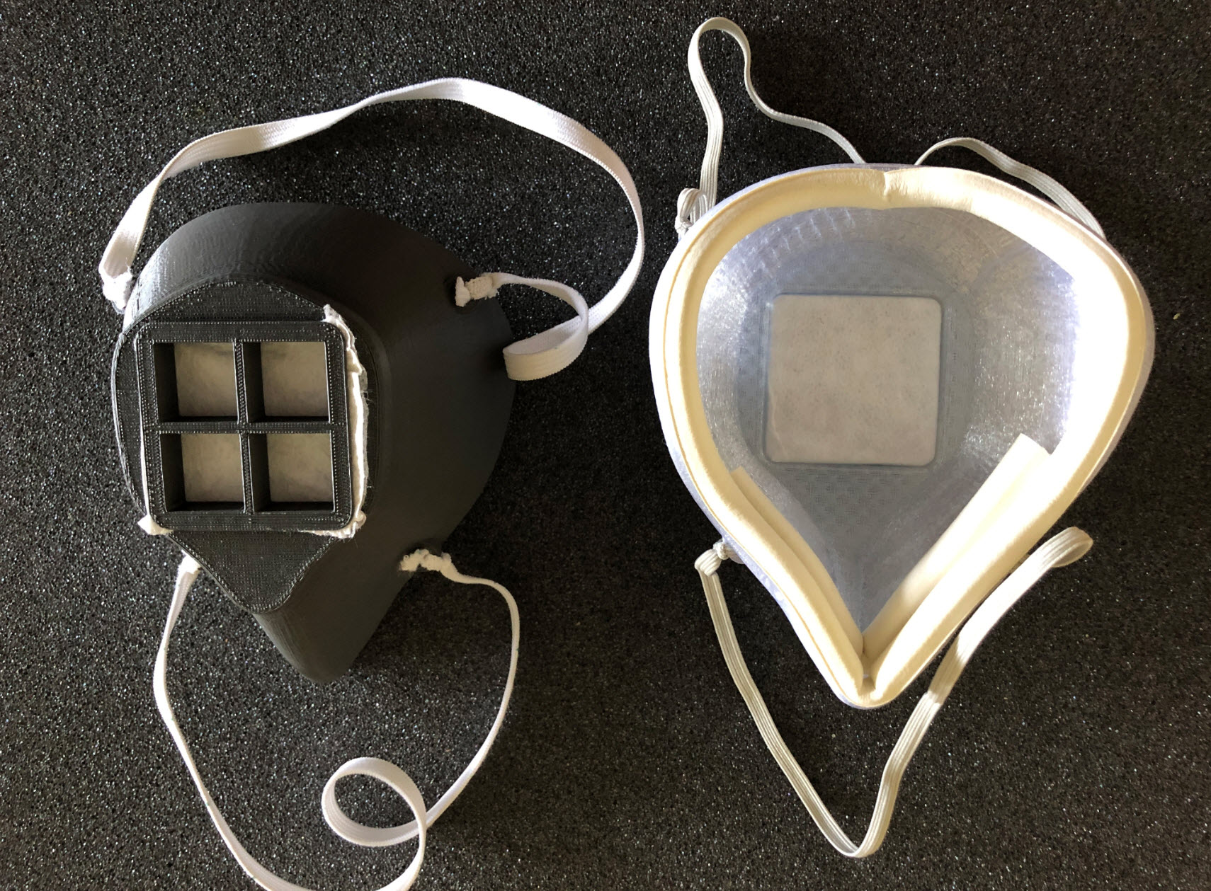 3D Printed Face Mask - School Fab Lab